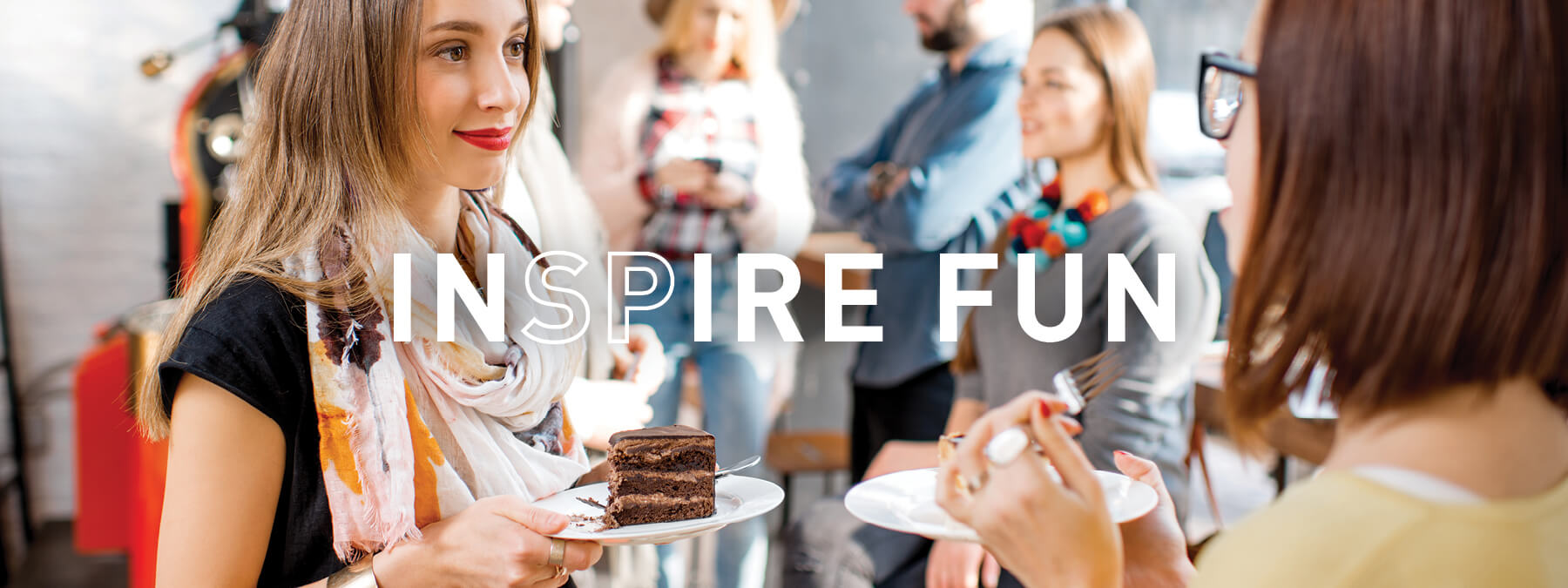 INSPIRE fun - group of people talking
